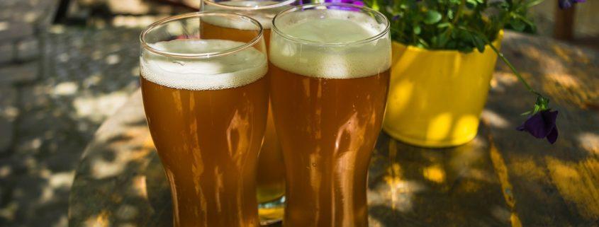 In rund vier Wochen wird es ungemütlich in Biergärten