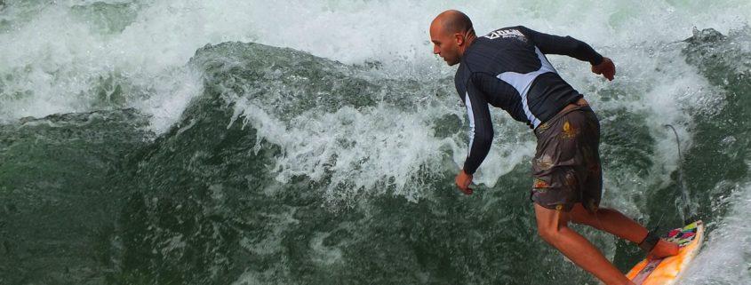Surfen In München: Noch weitere surfbare Wellen an diversen Münchner Plätzen